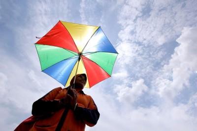 东海岸地区的雨量减少逾两成,关丹的气温一度高达摄氏33度。