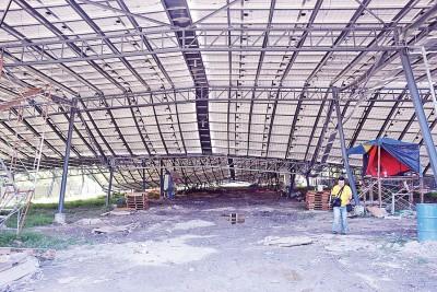 平安村太阳能厂被拆除。