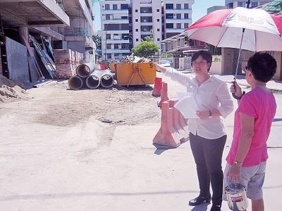 叶舒惠促发展商依照承诺开放发展计划的地下停车场供公众使用。