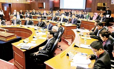 槟市厅周四举行首次召开新一届例常会议。
