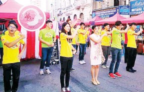 (槟城讯)今年猴年,马来西亚理科大学的学生将来给大家活力生动的快闪街头表演!