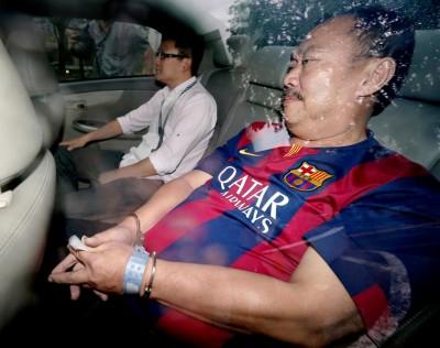 被告陈福添周六上午被提控。