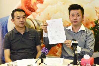 自称是刘敬亿的债主拿督曾瑞德今天终于现身解说欠15万令吉的事情始末!
