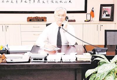 台湾陆委会主委夏立言早前收到中国国台办主任张志军之双边专线电话。