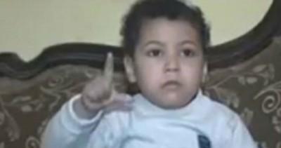 """艾哈迈德受指控在示威活动受到打死人;外""""违法""""时只产生16只月大。"""