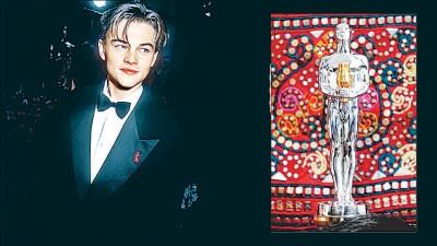 里奥纳过狄卡比奥首到奥斯卡奖才19东,盖《恋恋情深》入围最佳男配角。俄罗斯粉丝募款打造山寨版奥斯卡奖座送给里奥纳过。