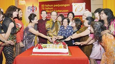 林吉祥喜庆75岁生日。