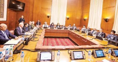 先后三轮叙利亚以及谈在瑞士日内瓦万国宫举行。(新华社照片)