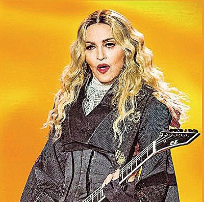 麦当娜现场演唱魅力十足,57春仍宝刀未尽。