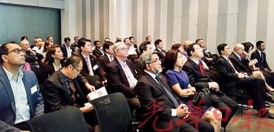 林冠英在澳洲墨尔本,出席槟城商业研讨会。