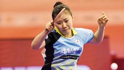 福原爱希望能够在决赛再遇中国。