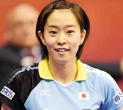 石川佳纯希望对中国时可以发挥出自己的水平。