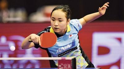 日本女队新近涌现出15岁的天才少女伊藤美诚。