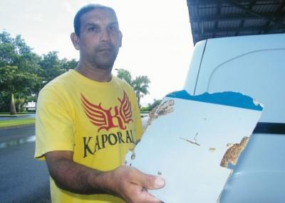 贝格(图)近日再发现疑似MH370碎片。