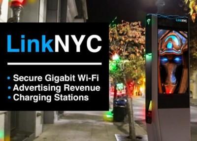 纽约的LinkNYC项目部分资金来自中国投资者。