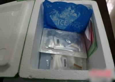 重庆检验检疫局截获一批供整容使用的人体软骨及含有人体皮肤组织成分的生物制品。