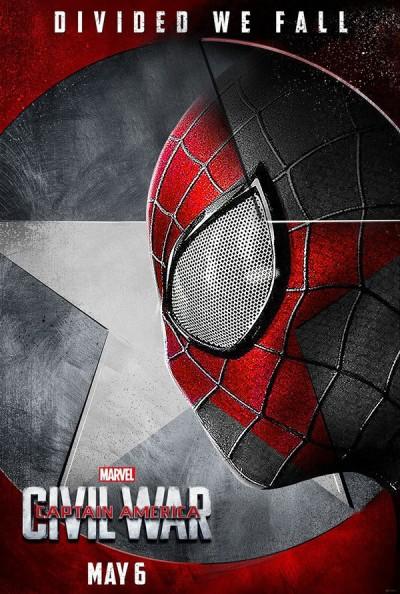 《美国队长3:英雄内战》海报。