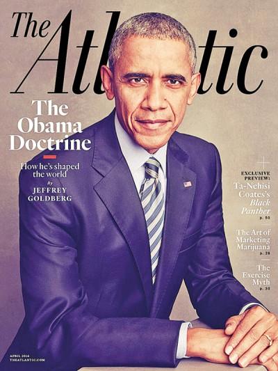 """美国总统欧巴马在接受《大西洋月刊》专访时提及利比亚问题,直斥利比亚如今的局势是一场""""狗屎秀""""。"""