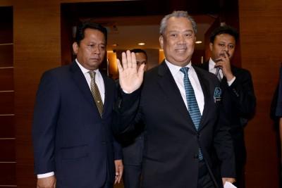 慕尤丁难在国会反击,提呈对首相投不信任动议。