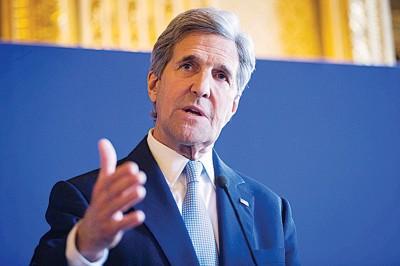 美国国务卿克里下周将访问俄罗斯。(法新社照片)