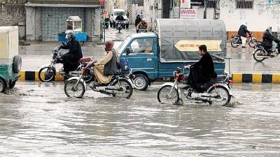 巴基斯坦多地连日来遭遇强降雨。