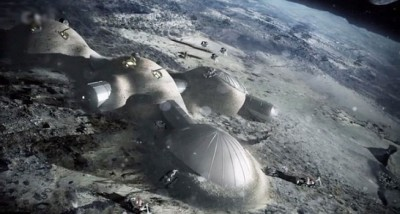 "ESA将在20年内兴建""月球村""。"