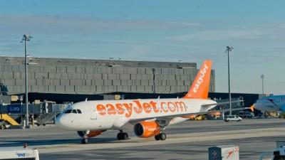 易捷航空一架客机被逼取消起飞。