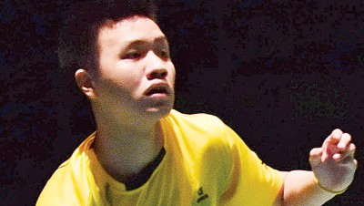 祖法德利啊无缘打进印度羽球赛正赛。