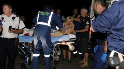 康奈南伤势严重,只是保住性命。