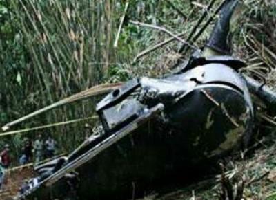 印尼军方直升机在苏拉威西岛波索区坠毁。