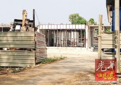 25万令吉可负担房屋目前已经开始进行打桩工程。