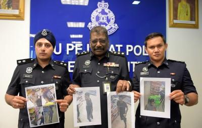 慕鲁沙米公布从闭路电视拍摄到嫌犯的照片