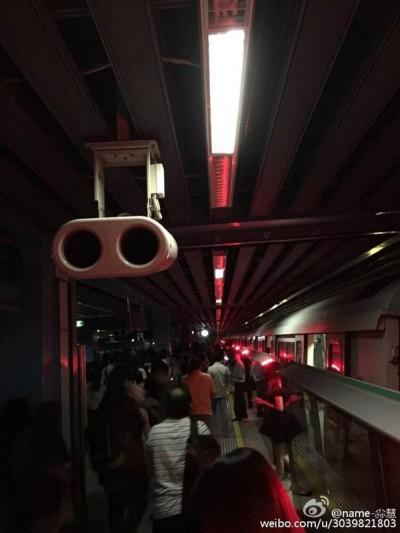 女皇镇地铁站内的情。
