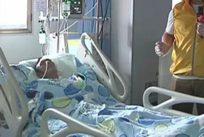 何谦昏迷至今两个多月,拖欠超过20万元(约12万令吉)医疗费。