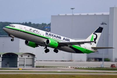 民航局正式暂时冻结Rayani Air航空公司3个月营运许可证。