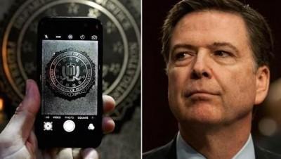 """高铭(右)透露,FBI为解锁iPhone""""大出血""""。"""
