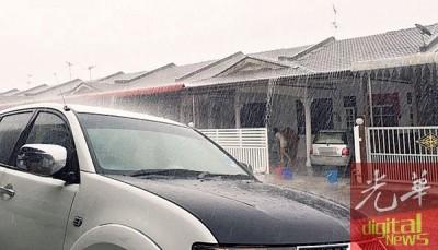 双溪大年也有下雨。