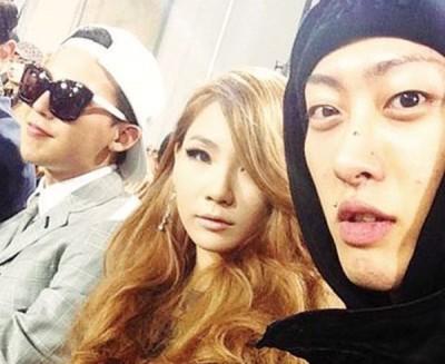 杨胜浩(右)与CL及GD交情匪浅。