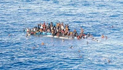 难民冒险越洋前往欧洲,受溺事件未断。