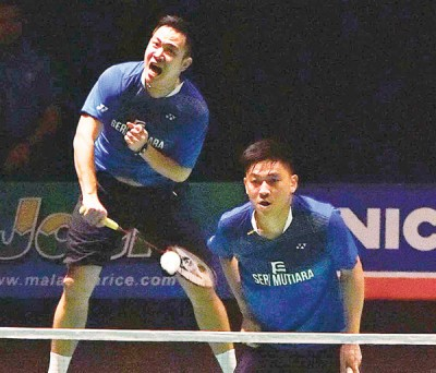 古健杰/陈文宏同里约奥运会的约渐行渐远。