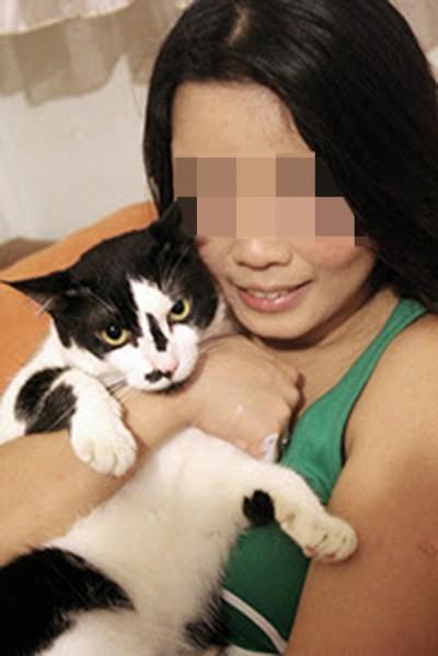 """詹仪玲是猫拯救组织""""Love Kuching Project""""创办人。"""