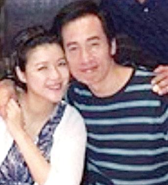 陈茵媺与丈夫陈豪。