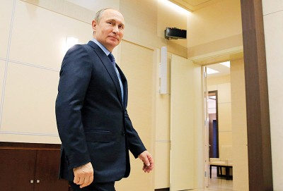 《巴拿马档案》披露,全世界140多名政治人物在逃税天堂秘密存款,当中有俄罗斯总统普京的亲信等人。(法新社照片)