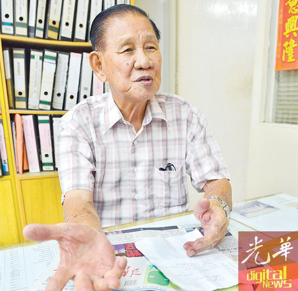 """今年82岁的陈寿钧日前读到本报""""我想活下去"""",癌症妈妈黄美娟的求助故事,强调人生最怕病来磨,但求生意志主宰一切。"""