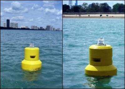 已有部分智能浮标在海滩试用。