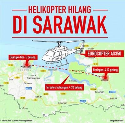 直升机路线图,抱自马新社。