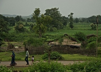 村落所在是较为落后的地区。