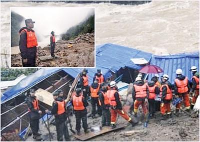 福建三明市周日发生山泥倾泻,至今已造成10死31失踪。