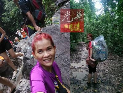 刘釨巸说,若有机会,她希望能与年轻人一起登山,传达环保观念。