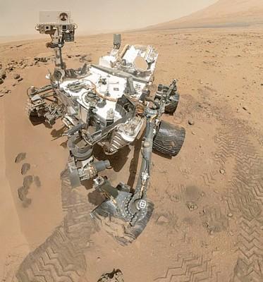 NASA公布最新的好奇号图片。